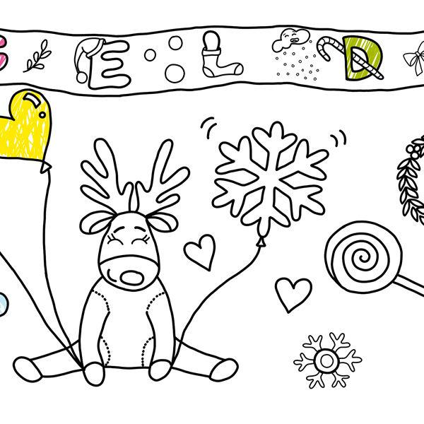 çocuklar Için En Güzel Yeni Yıl Hediyesi Boyamakagidicomda