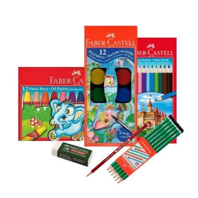 Faber Castell Boyama seti